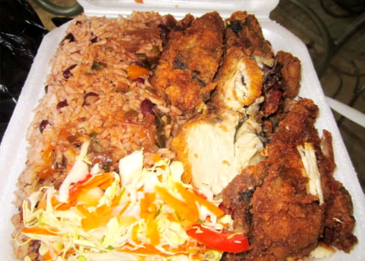 Jamaican Box Food